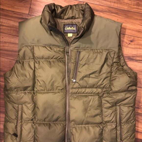 914e031bdd35b Cabela's Jackets & Coats | Mens 2xl Goose Down Vest | Poshmark